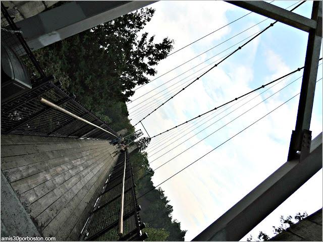 Puente Suspendido del Parque Chute Montmorency, Quebec