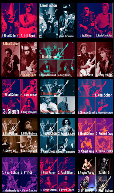 Neal Schon Guitar Connoisseur Magazine Favorite Guitar Player 15 rounds