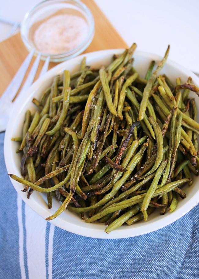 Crispy Oven Green Beans | Paleo, Whole30