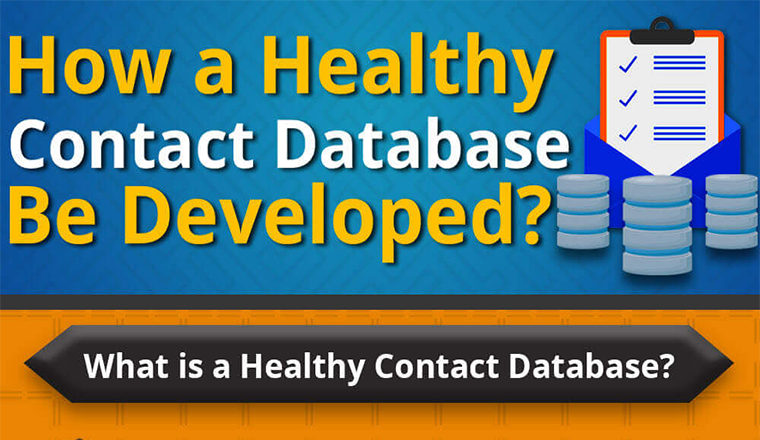 How a Healthy Email Contact Database be Developed #infographic