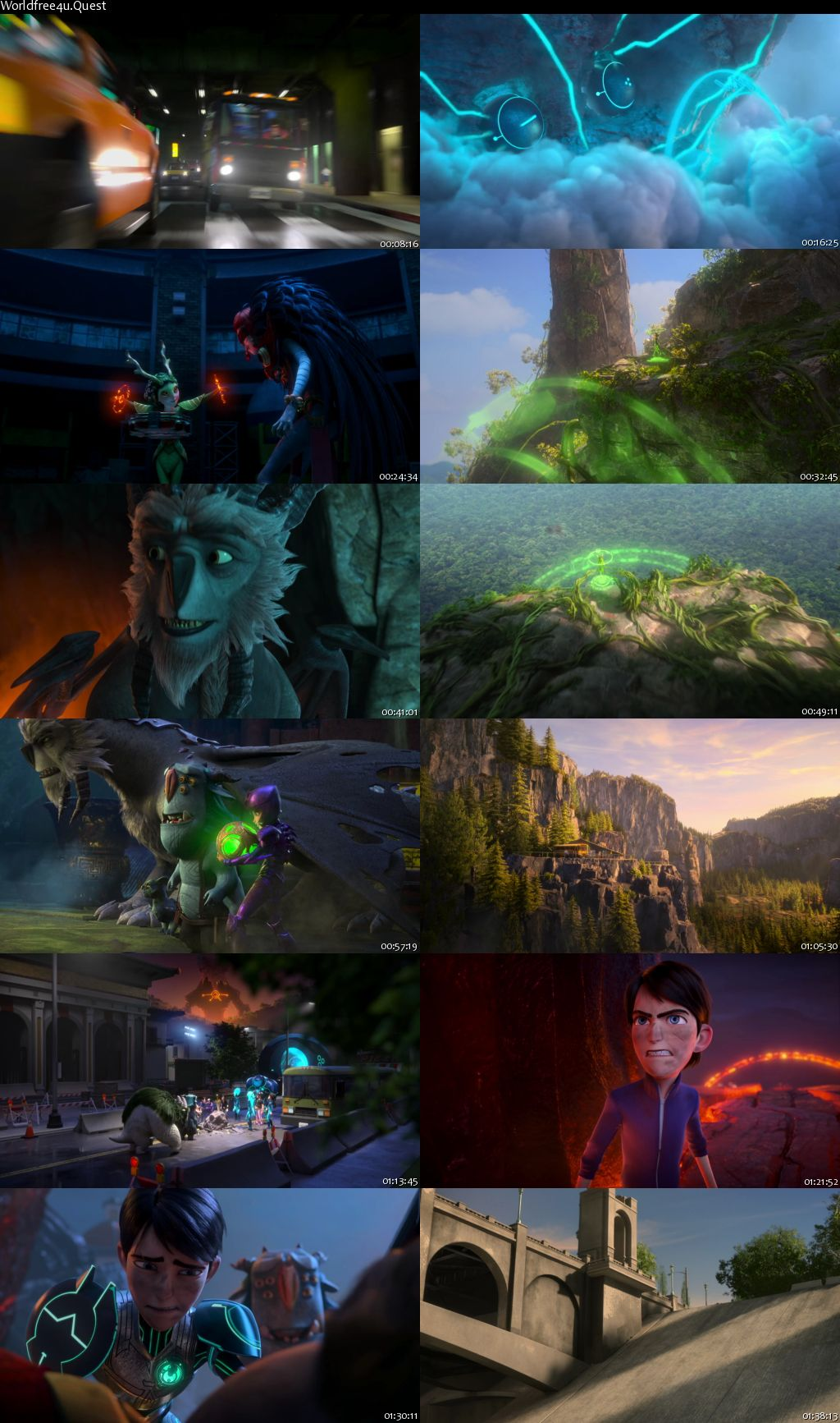 Trollhunters: Rise of the Titans 2021 HDRip 480p Dual Audio 300Mb
