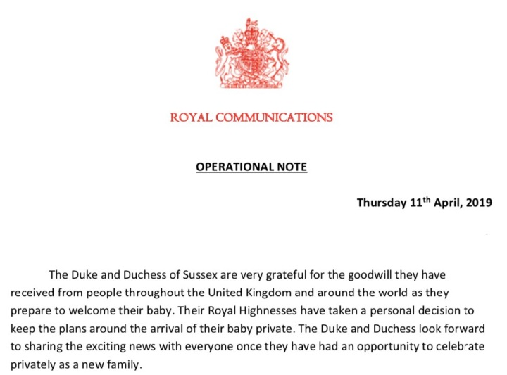 Mad About Meghan: Buckingham Palace Release Update on Baby Sussex!