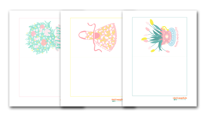 Cards to Print for Mother's Day