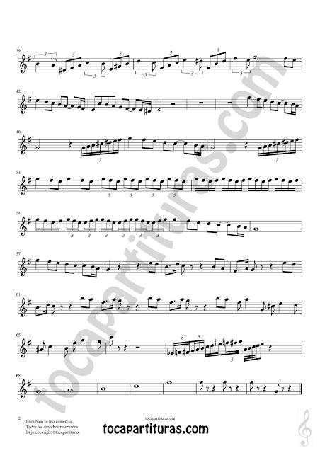 2 Oboe Partitura de Pas de Deux Sheet Music for Oboe Music Score PDF/MIDI de Oboe