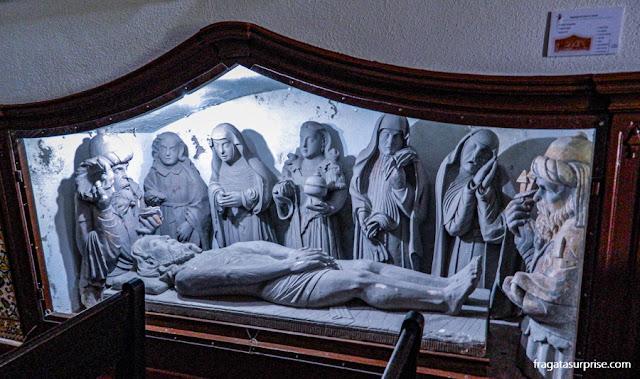 Cinjunto de imagens sacras na Igreja da Misericórdia, Seia, Portugal