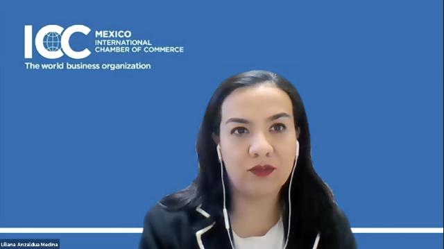 Liliana Anzaldua  Medina, vicepresidenta de Energía de ICC México
