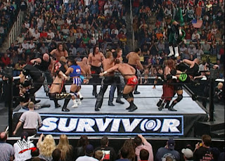 WWE / WWF Survivor Series 2001 - Immunity Battle Royal