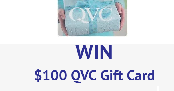 QVC FALL SWEEPSTAKES 2019