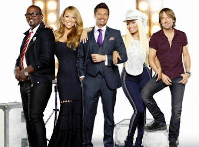 New Set of AI Judges- Jackson, Carey,Minaj and Urban and Seacrest as host