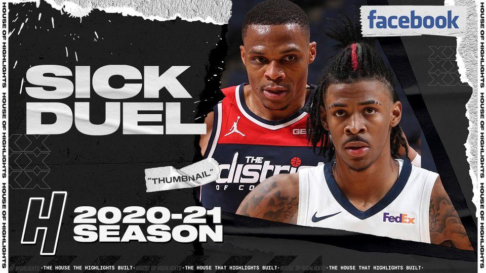 Ja Morant 21pts vs Russell Westbrook 20pts | March 10, 2021 | 2020-21 NBA Season