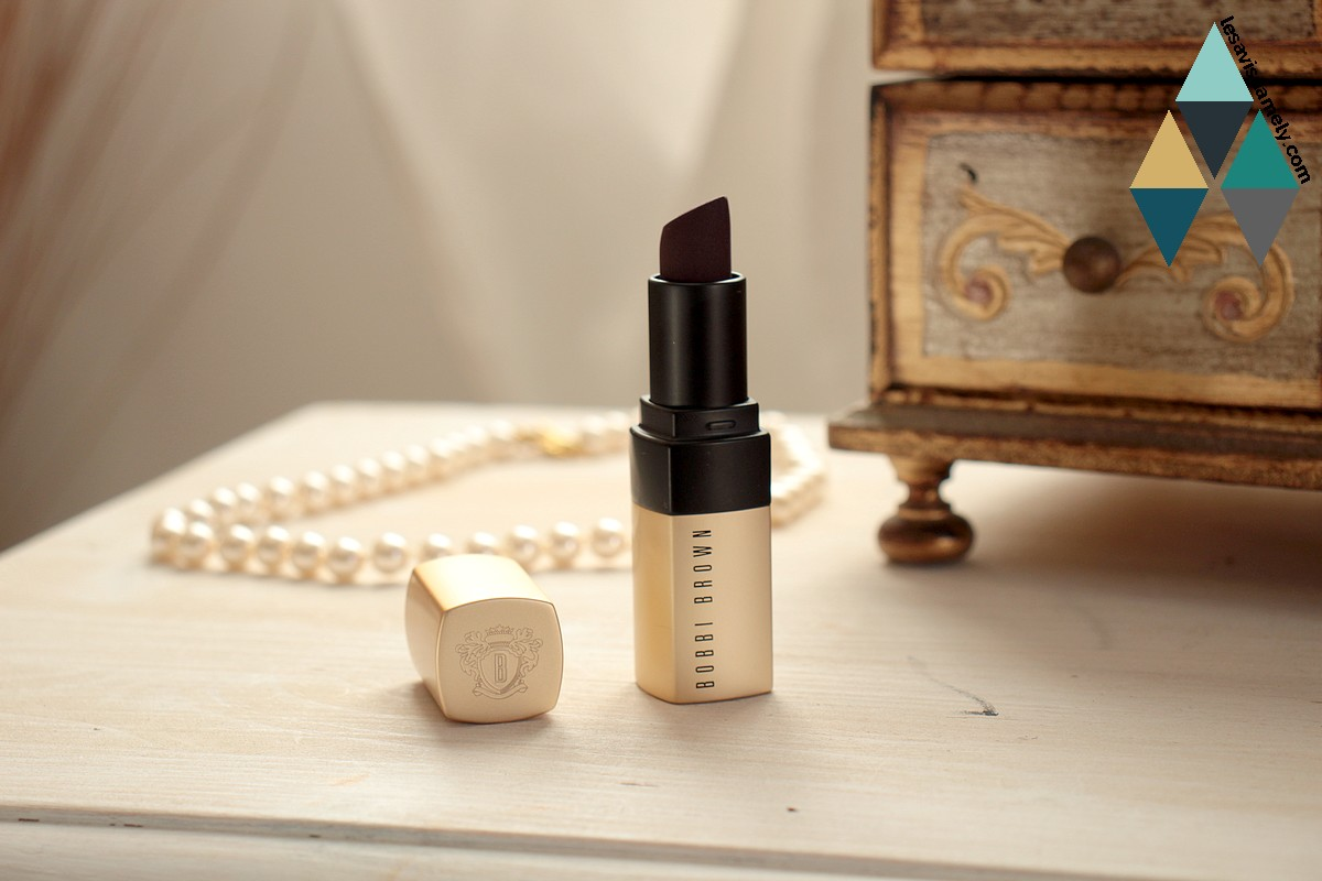avis et test luxe matte lip color Bobbi Brown