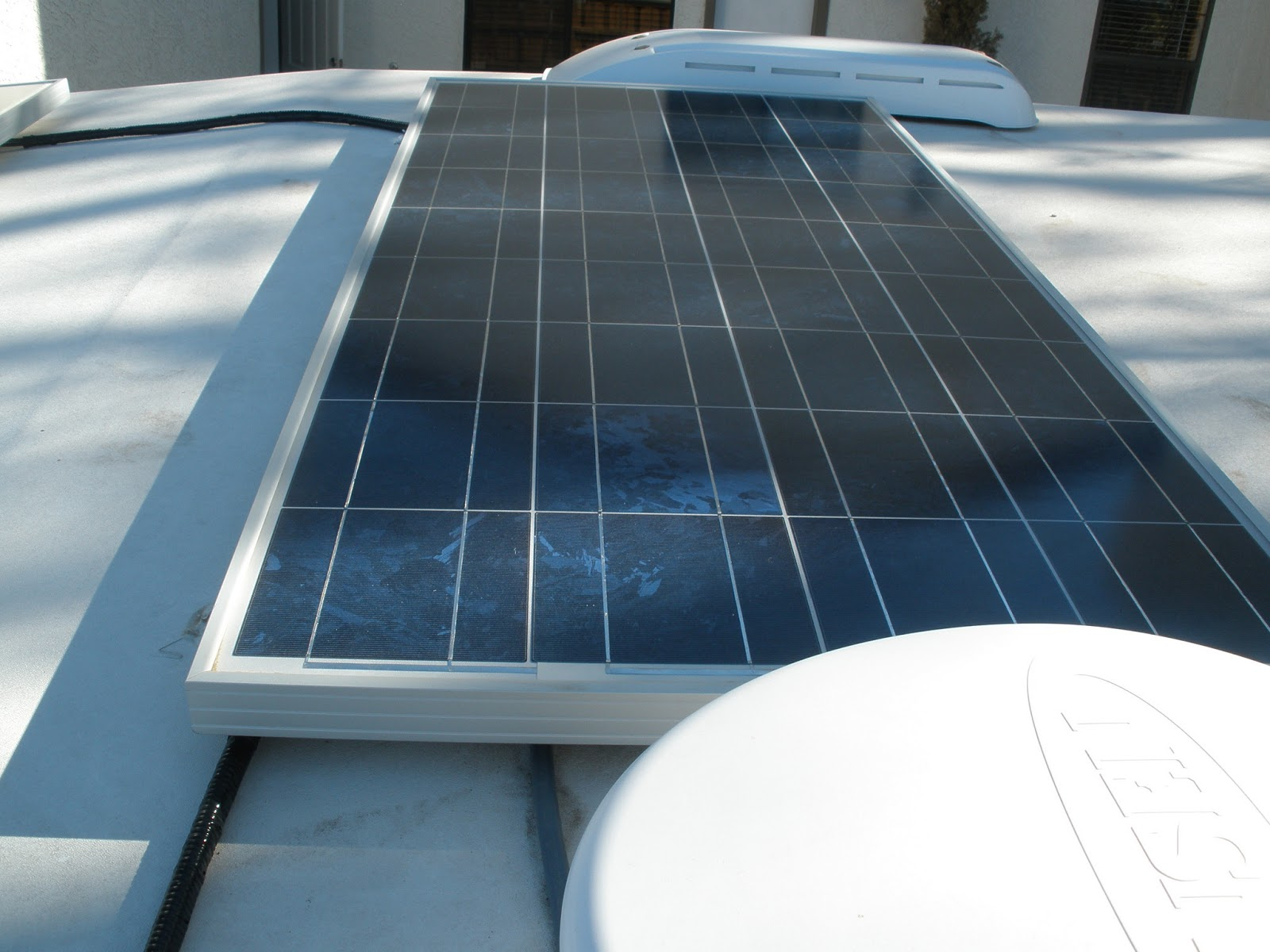 Rv Solar Panel And Roof Maintenance Truck Camper Adventure
