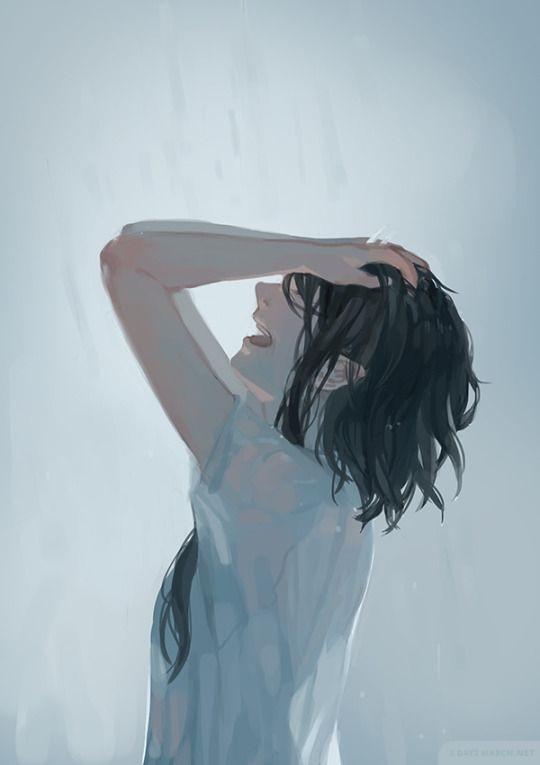 Foto anime cewek sedih