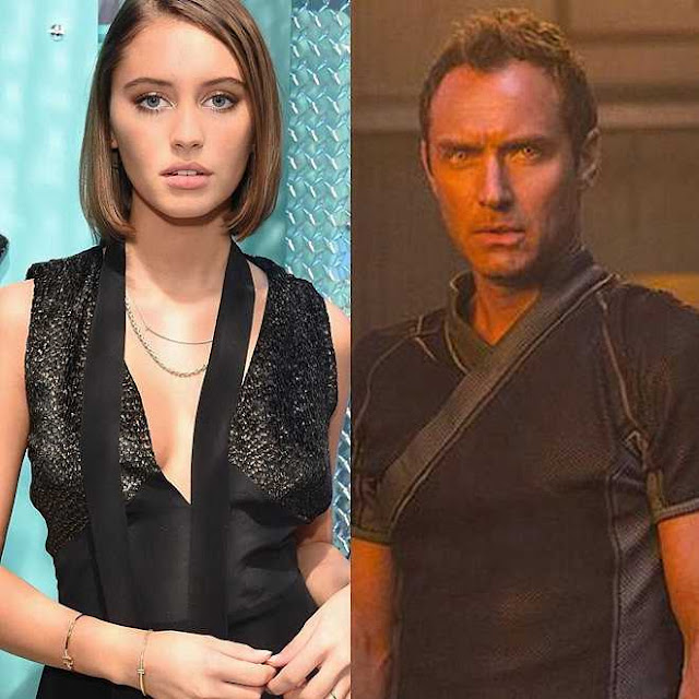 """Iris Law – ái nữ 10X xinh đẹp, quyến rũ của tài tử """"Captain Marvel"""""""