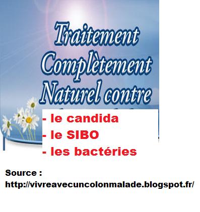 remèdes naturels contre le SIBO, candidose et bactéries