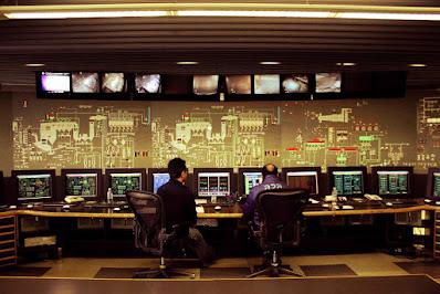 sala di controllo-termovalorizzatore
