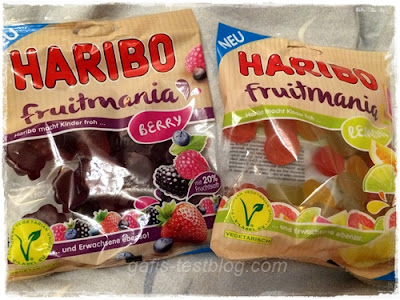 Haribo – Fruitmania, Berry und Lemon