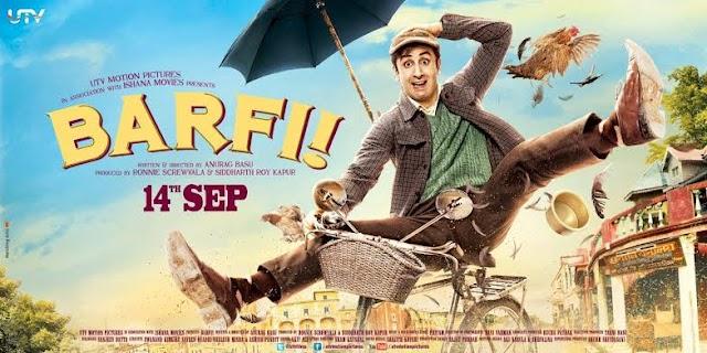 Barfi (2012) Hindi BluRay 480p & 720p Download With E Subs   400MB & 1.3GB