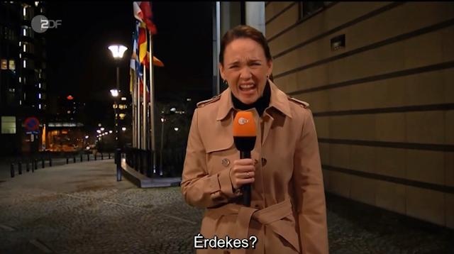 """A német köztévében hazánkat mocskolják: """"az, amit Varsó és Budapest csinál az EU-val, az egyszerűen csak hányingerkeltő"""""""