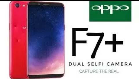 Tampilan OPPO F7 Diluncurkan dengan Membawa Kamera Selfie 25MP  FHD + Display 6,23 inci 1