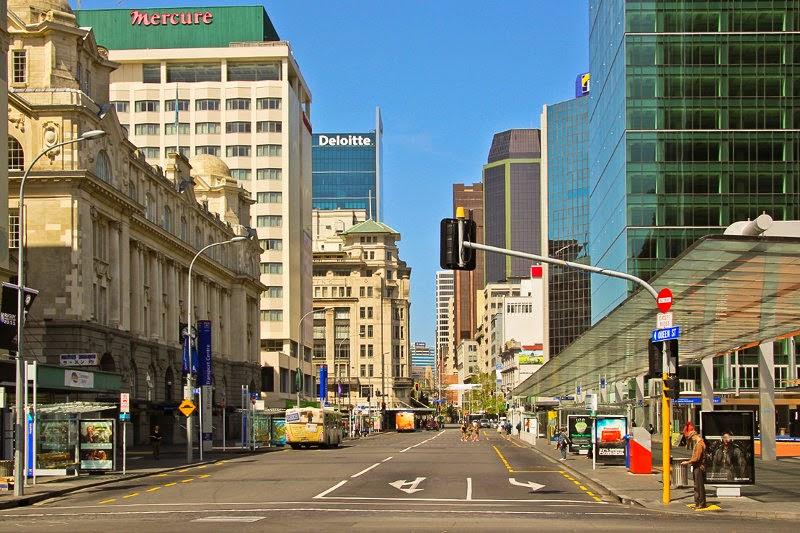 Queen Street de Auckland