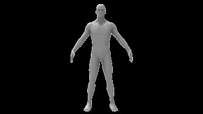Male base mesh 3d model free download,obj,maya,low poly