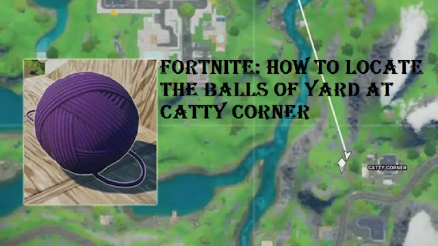 Fortnite: How to Locate the Balls of Yard at Catty Corner