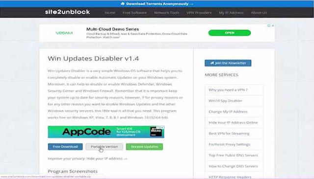 الاداة الجبارة لغلق وفتح تحديثات الويندوز وبرامج الحماية المدمجة بالويندوز 2