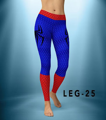 Spiderman Yoga Pants