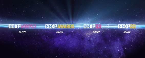 CCXP 2021 será nos dias 4 e 5 de dezembro
