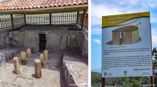 Tumba Dolmênica no Observatório Astronômico de Monquirá, ou El Infiernito, Villa de Leyva, Colômbia