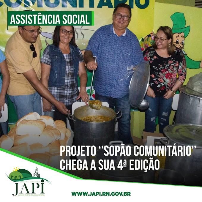 Sopão Comunitário chega ao bairro Alto Bela Vista