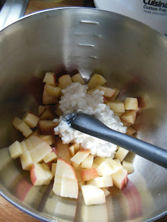 Cottage Apple Salad, easy apple and cottage salad.