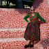 Plaid/ Tartan Jumper and Wool Floral Skirt