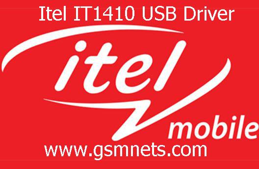 Itel IT1410 USB Driver Download