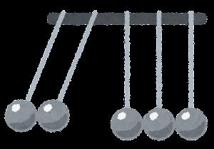 ニュートンのゆりかごのイラスト3