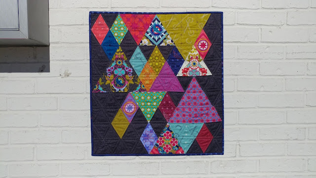 End Game mini quilt