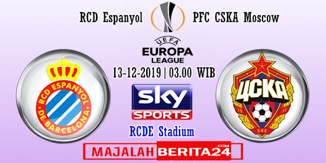 Prediksi Espanyol vs CSKA Moscow — 13 Desember 2019