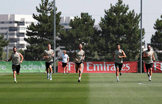 Real Madrid welcome back injured senior players to training ahead of Real Mallorca clash