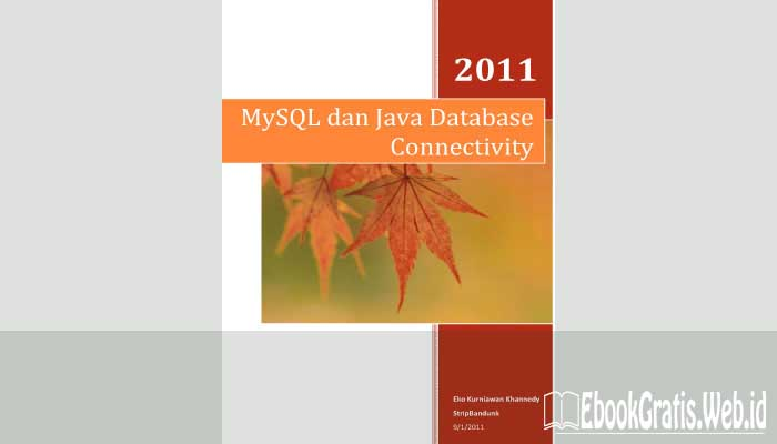Ebook Mysql Dan Java Database Connectivity