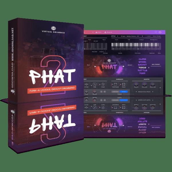 UJAM Virtual Drummer PHAT v2.0.1 Full version