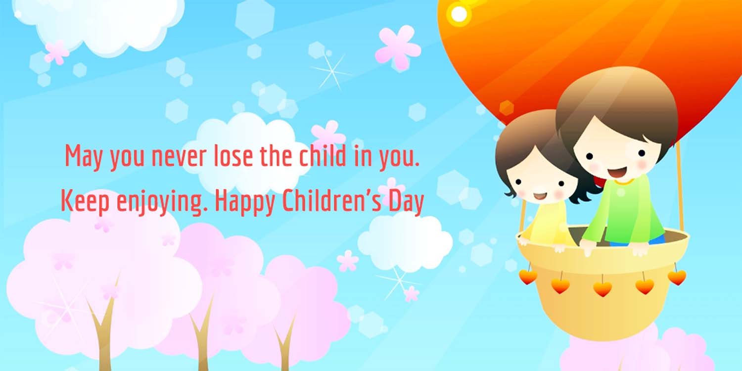 Happy Childrens Day Status Message Quotes In English Badhaai