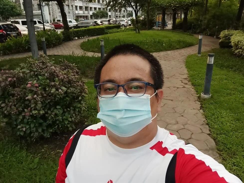 Infinix Note 10 Pro Camera Sample - Selfie, Normal