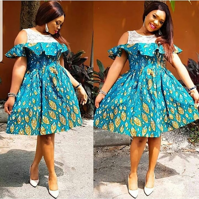 2019 Stylish and Beautiful Ankara Gown Styles