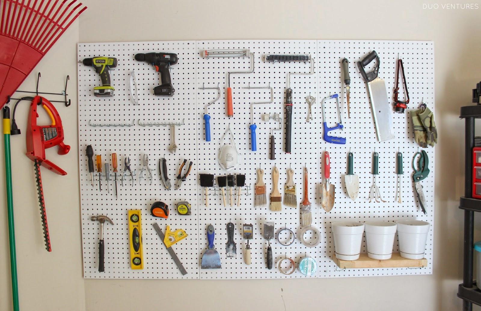 Duo Ventures Organizing Tool Pegboard