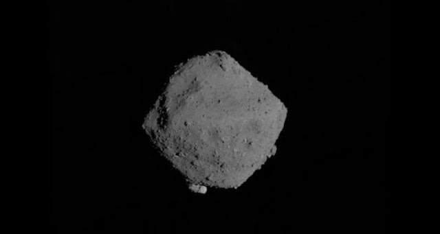 The Japanese space probe Hayabusa-2 returns to Earth with samples of an asteroid