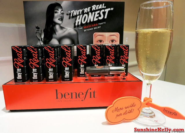 Benefit Shop in Shop Boutique @ Sephora Starhill, benefit cosmetics, push & pop party, sephora starhill, Benefit Shop in Shop Boutique, benefit, they're real mascara, cosmetics