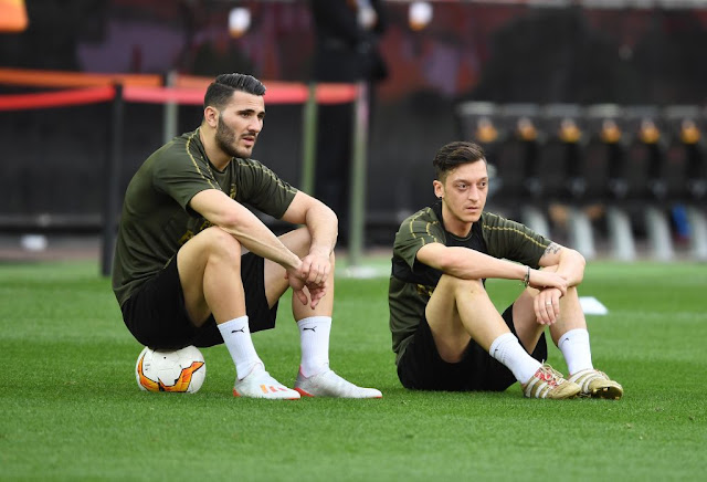 Mesut Ozil and Sead Kolasinac missed Arsenal's opening Premier League match at Newcastle due to security reasons