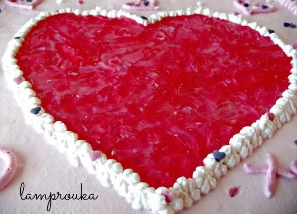 τούρτα γενεθλίων καρδιά