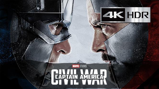 Capitán América Civil War (2016) 4K UHD [HDR] Latino-Castellano-Ingles